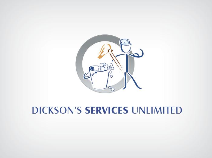 Dickson's Services Logo Design