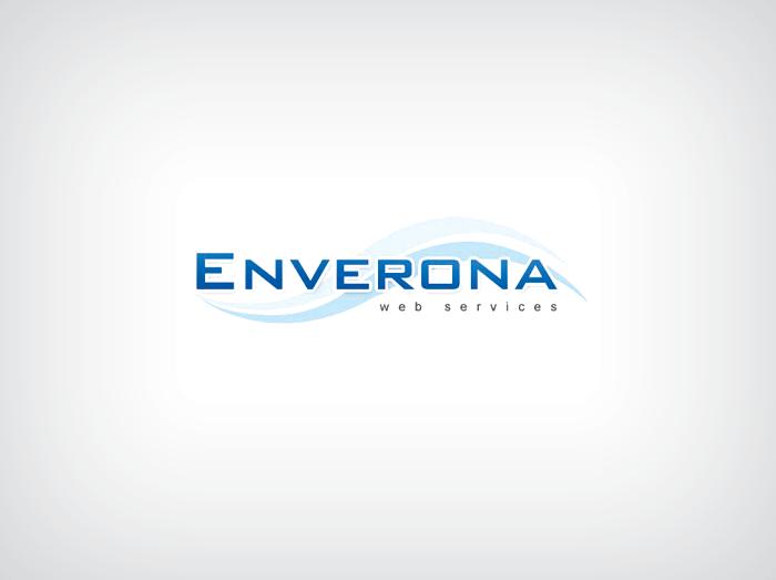 Enverona Web Services Logo Design