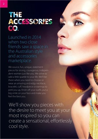 accessories-co-brochure design