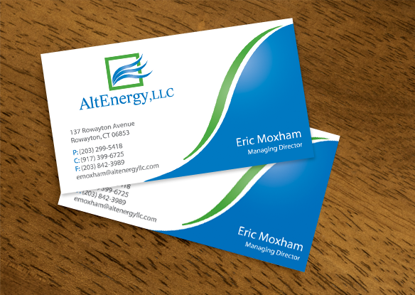 alt energy stationery design