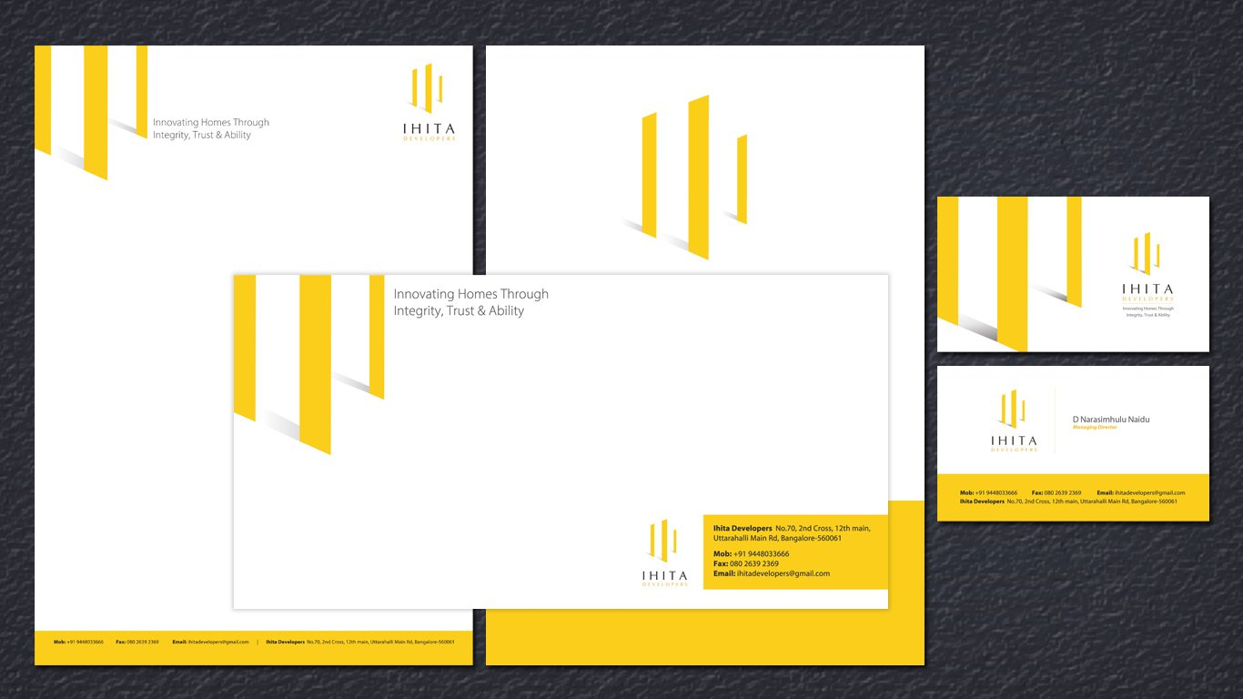 ihita stationery design