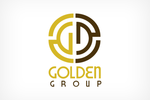 Golden Group Logo Design