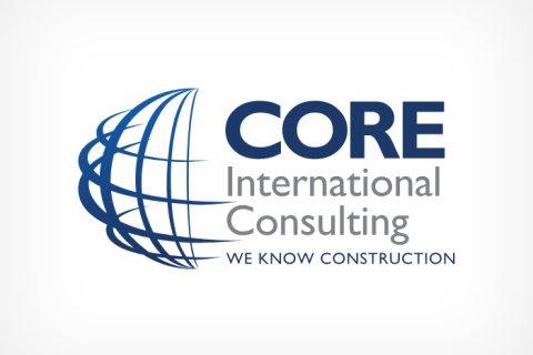 Core International Consulting logo design