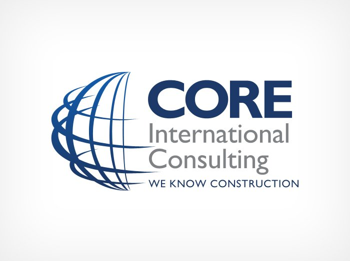 Core International Consulting logo design