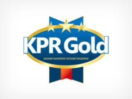 packaging logo design for KPR gold