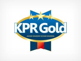 packaging logo design for KPR gold