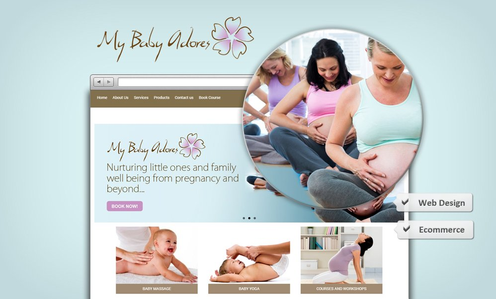 Website_Design_MyBabyAdores