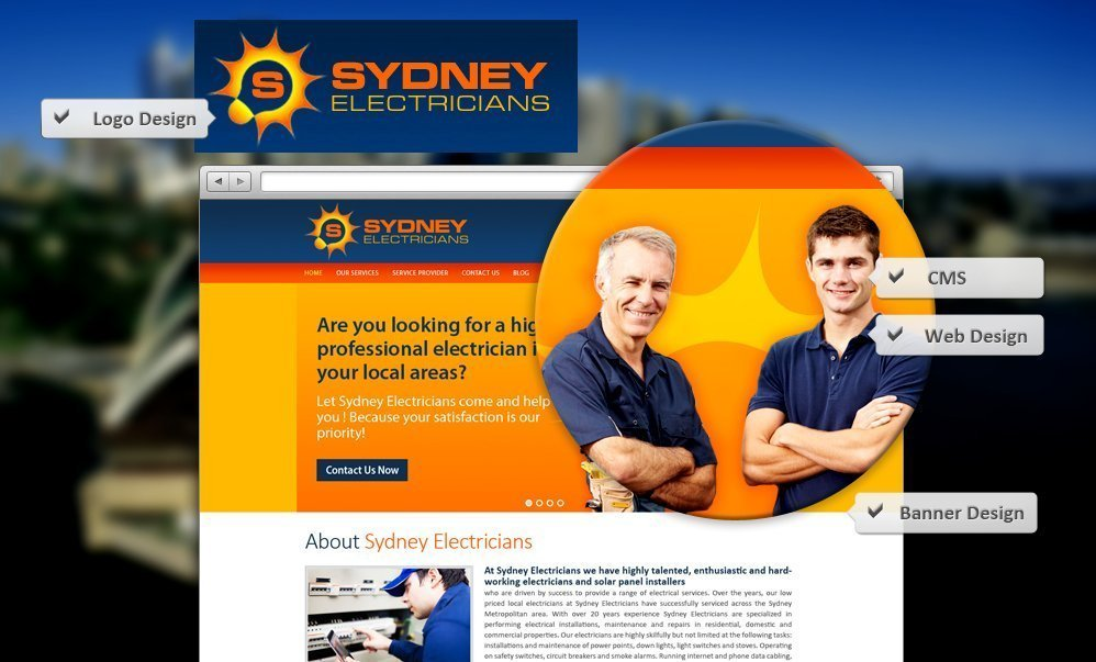 Website_Design_SydneyElectricians