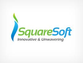 Simple logo design for iSquare Soft