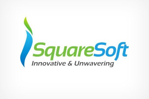 Simple logo design for iSquare Soft