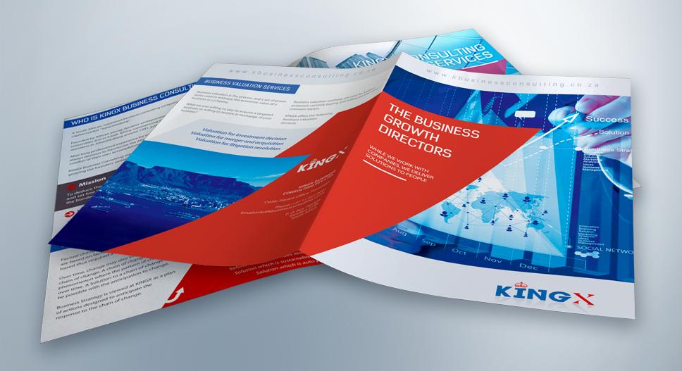 brochure design kingx