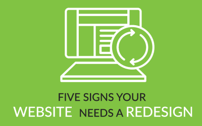 Five signs your website needs a redesign