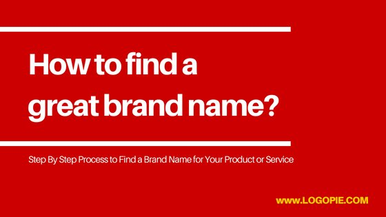 How to find a great brand name
