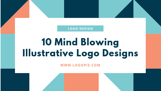 10 mind blowing Illustrative Logos