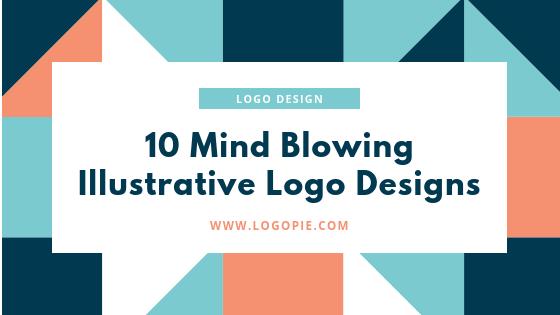 10 mind blowing Illustrative Logos