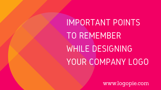 Important points to remember while designing your company logo