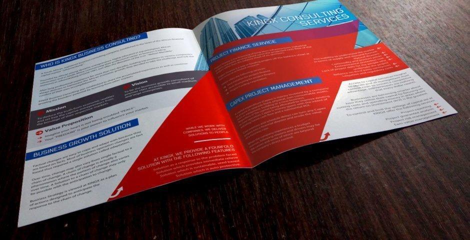 brochure design india
