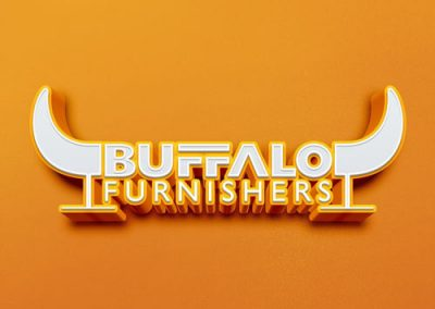 Buffalo furnishers logo design