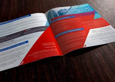 KingX brochure design