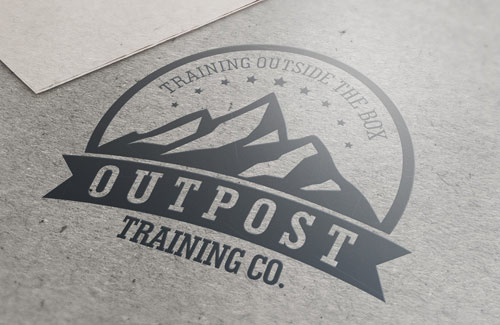 logo design services for outpost trading