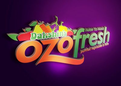 Ozofresh Logo Design