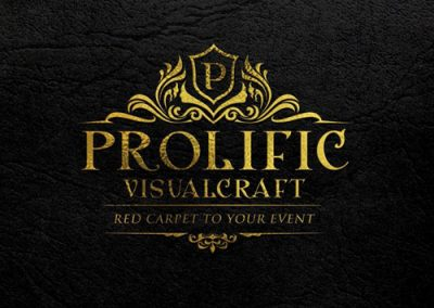 logo design for prolific entertainment