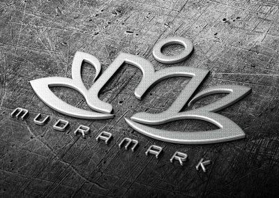 mudramark logo design