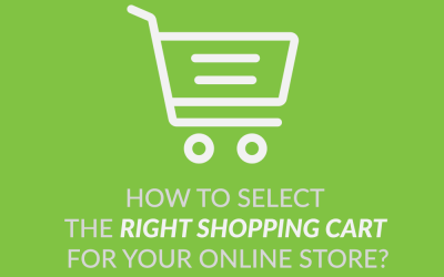 How to Select The Right Shopping Cart For Your Online Store?