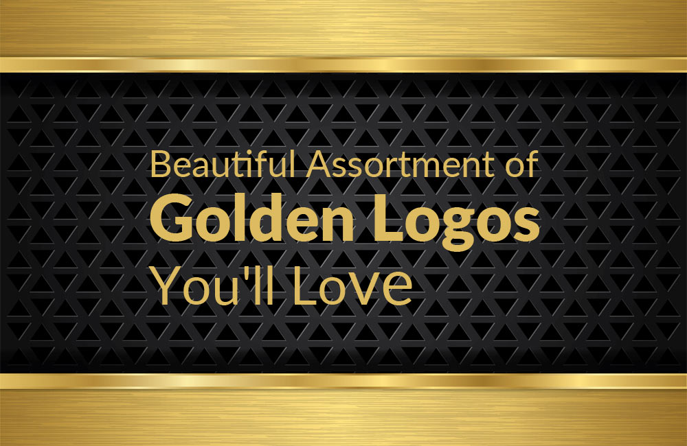 Beautiful Assortment of Golden Logos You'll Love