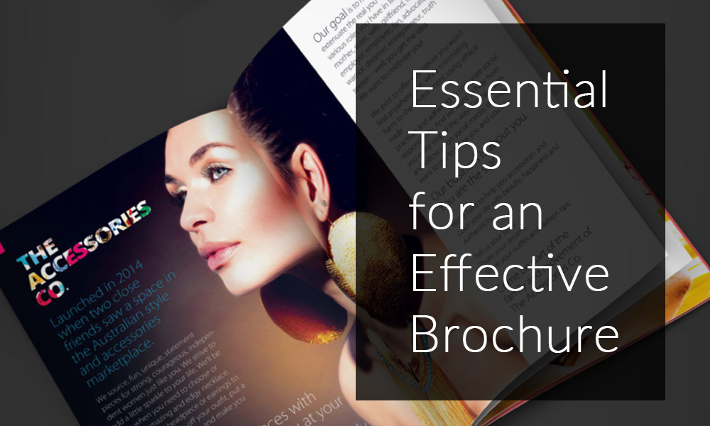 Essential Tips for an Effective Brochure